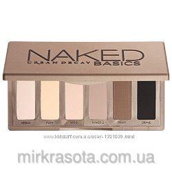 Палетки теней Naked Basics и Naked Basics2 от Urban Decay