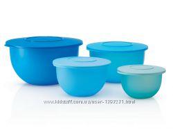 Подарочный набор чаш Tupperware Очарование 4 чаши в подарочной коробке