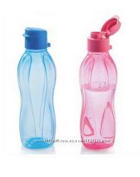 Бутылка Tupperware 500 мл с клапаном в наличии розовая или голубая