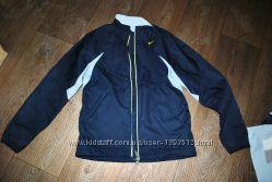 Куртка NIKE ветровка дождевик демисезон синяя s