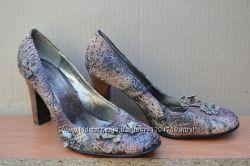 Фирменные туфли, кожа