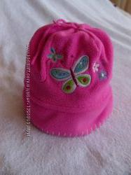 Симпатичную флисовую шапочку