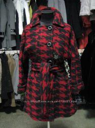 Пальто женское с поясом