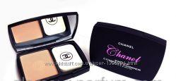 Компактная пудра Chanel Шанель с витамином Е