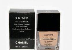 Тональный крем Chanel Sublimine Fond de Teint Fluide Шанель Саблимайн