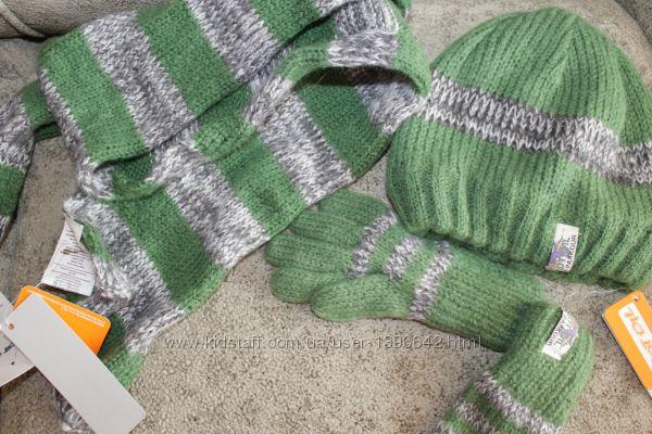 Новый комплект WOJCIK шапка шарф перчатки
