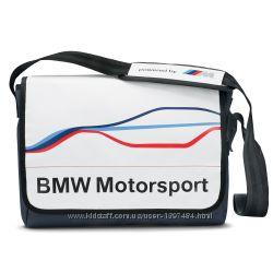 ���������� ����� BMW Motorsport Messenger Bag White