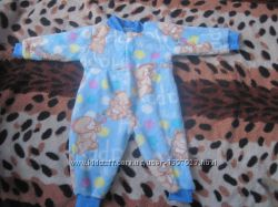 Новий махровий тепленький чоловічок для малюка