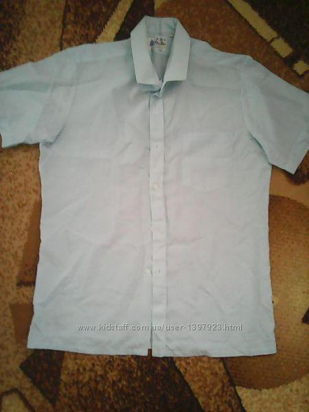 Легенька нарядна літня сорочка 41 розм.