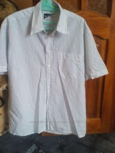 Легенька натуральна літня сорочка 42розм.  Рубашка
