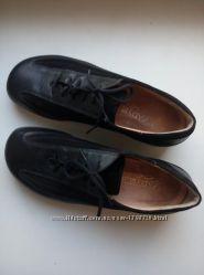 Стильные черные туфли lady sko натуральная кожа р. 39