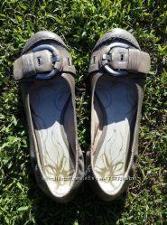 Кожаные туфли tamaris р. 38