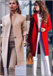Пальто прямого кроя. Новинка 2016