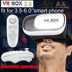 VR Box II Окуляри віртуальної реальності  Bluetooth контролер