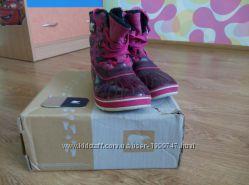 Зимние сапоги для девочки Sorel waterproof р-р 6