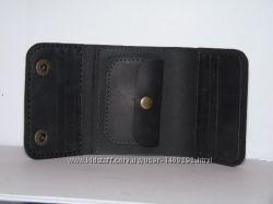 Кожаный кошелек. Натуральная кожа. Кожаный мужской кошелек. Handmade