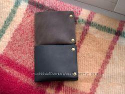 Кожаный кошелек. Портмоне. Handmade