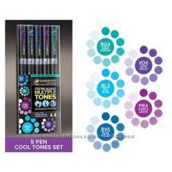 Набор маркеров Chameleon Color Tones Холодные Тона СТ0504