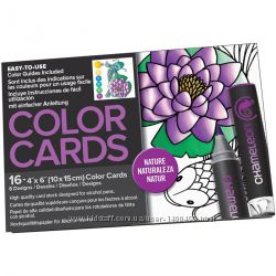 Раскраски Chameleon Color Cards