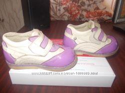 Кожанные ортопедические туфли кроссовки SOFT STEP