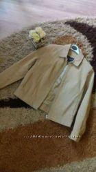 Кожаная куртка на р 36-38