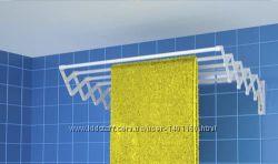 Настенная сушилка-гармошка для белья МилтонMilton от 0. 6м и длиннее