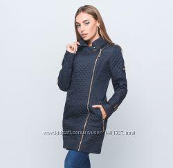 Демисезонное пальто, куртка, плащ с двубортным воротником