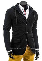Модная мужская куртка-пиджак.