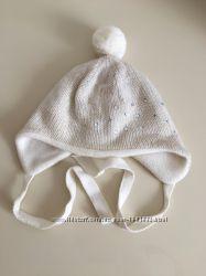 шапочка для девочки зимняя