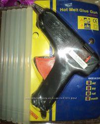 Пистолет для термоклея  гелевый клей