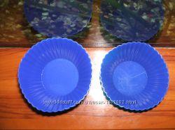 формы для выпечки кексов, силиконовые 12 шт