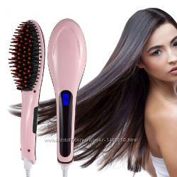 Выпрямитель волос Fast Hair Straightener Расческа-выпрямитель HQT-906