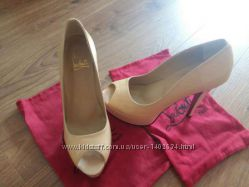 Туфли Christian Loubuotin стелька 25. 5 см