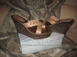 Отличные Сабо  Босоножки на платформе  Женская обувь большого размера