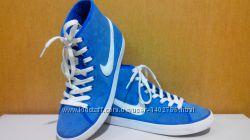Кроссовки-кеды, замшевые, Original -сток, Nike