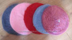 Ангоровые зимние береты - 2 цвета
