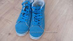 Зимние хайтопы кеды ботинки утепленные - 37 р