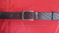 Кожаный брючный ремень с узором Andro