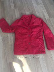 Стёганная  куртка-пиджак
