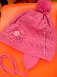 Шапочка рожева