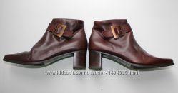 Шикарные ботинки Италия натуральная кожа