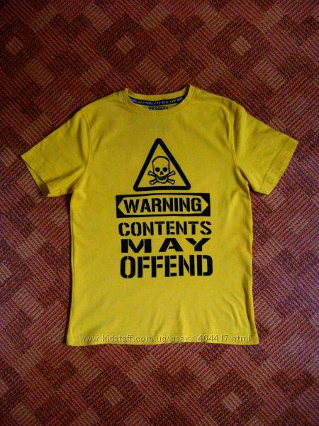 футболка, тенниска Rebel - возраст 8-9лет