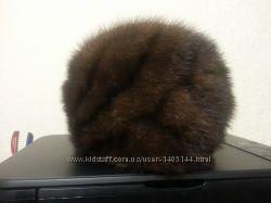 шапка женская норковая