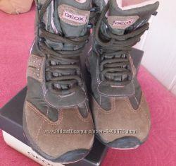 Geox ботинки термо зимние сапожки , 31 размер 20 см по стельке