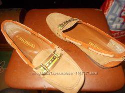 Туфли женские натуральный замш британской фирмы sally o&acutehara