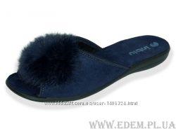 Тапочки женские Inblu NС-25Q синие