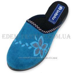 Тапочки женские Inblu NR-1Q светло-синие