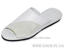 Тапочки женские Pellagio 502 Белый Сатин-Перламутр