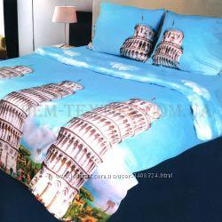 Постельное бельё Restline 180х215 микросатин 3D Италия