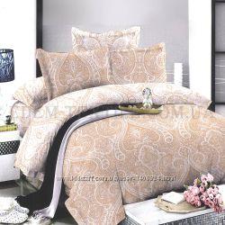 Постельное бельё Viluta 175х210 поплин Дамаск 005